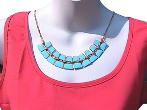 Other Fashion Faux Turquoise Necklace