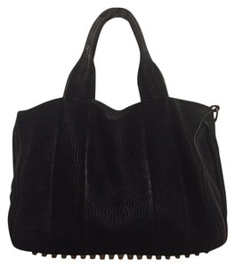 Alexander Wang Studded Leather Rocco Leather Hobo Bag