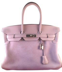 Hermès Suede Limited Edition Tote in Gray