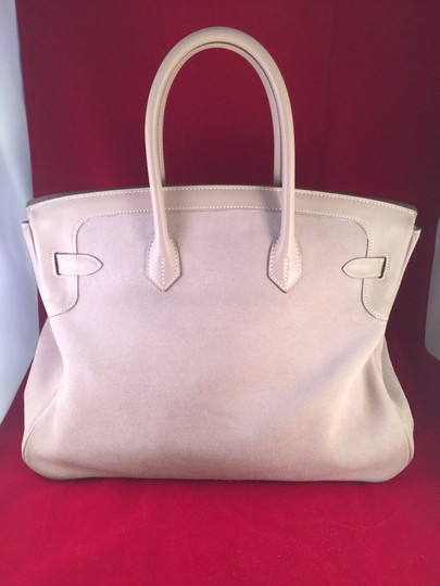 Hermès Suede Limited Edition Exclusive Luxury Gold Hardware Tote in Gray