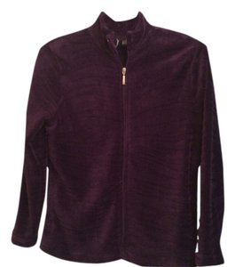 Jason Maxwell Velour Deep Purple Jacket