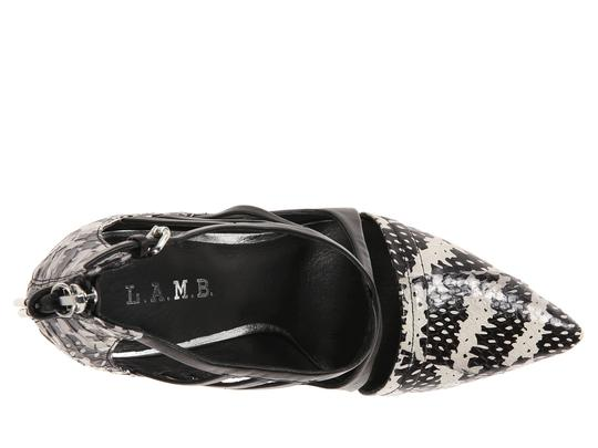 L.A.M.B. Black/White Platforms
