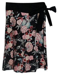 Mystique Skirt Black Floral Print