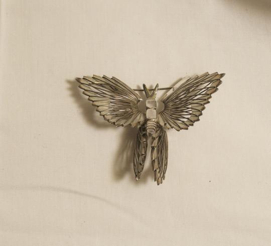 Other Vintage Taxco Sterling Silver Butterfly Pin Sterling Wire Struts
