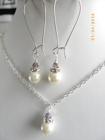 Other Sale Set Of 6 Bridesmaid Set Necklace And Earrings Set Of 6 Ivory Pearl Earrings Bridal Jewelry Rhinestone Crystal