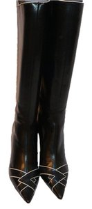 Jimmy Choo Manolo Blahnik 39.5 Black Boots
