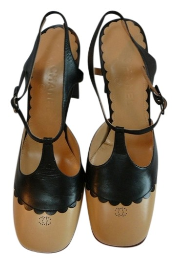 Chanel 39 New Valentino 39 Manolo 39 Saint Laurent 39 Gucci 39 black and beige Pumps