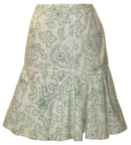 ALAA Skirt White and Green