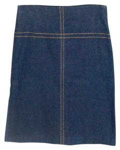 Arden B Skirt Dark Denim