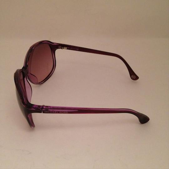 Michael by Michael Kors Michael by MK Clear Purple Large Sunglasses