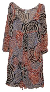 Diane von Furstenberg short dress multicolor Missoni Prada Chloe on Tradesy