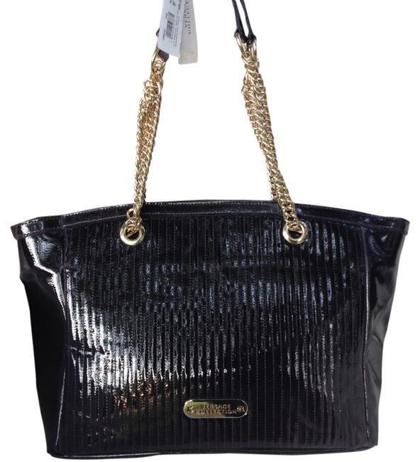 Item - Collection Eggplant Patent Leather Tote