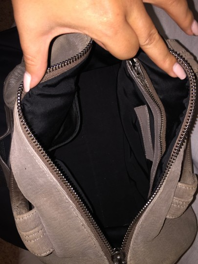 Alexander Wang Rocco Lasercut Satchel in Grey