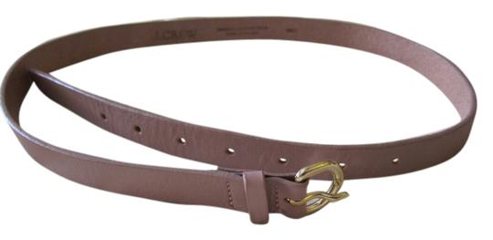J.Crew J.Crew pink genuine leather belt S New