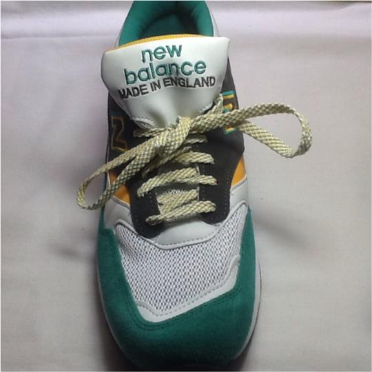 New Balance MADE IN ENGLAND Green and Gold Athletic