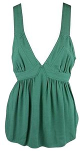 Juicy Couture Tank Empire Waist Top Green