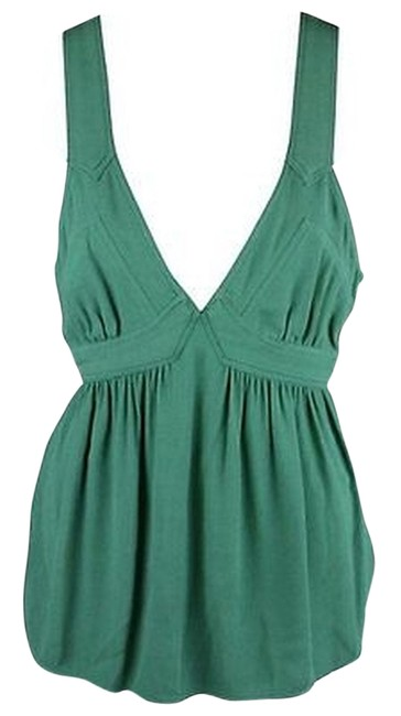 Juicy Couture Green Guinevere Tank Top - 65% Off Retail best