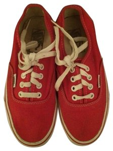 Vans Red Athletic