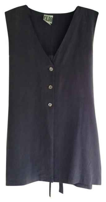 Clio Silk Classic Style Great Cut On Everyone Top black