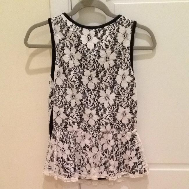 Forever 21 Top White & Black