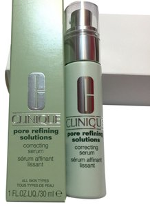 Clinique NEW IN RETAIL BOX - CLINIQUE - PORE REFINING SOLUTIONS - CORRECTING SERUM - 1 OZ - FULL SIZE