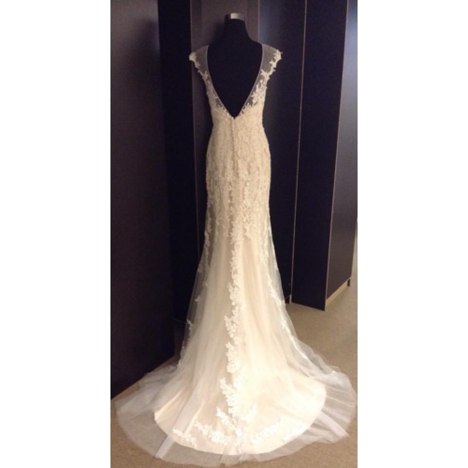 Maggie Sottero Ivory Lt Gold Lace Lucinda