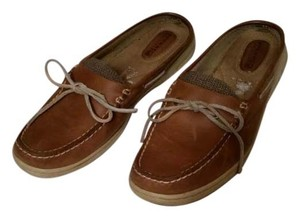 Sperry Light Brown Flats