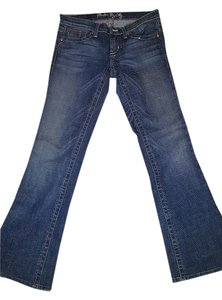 Plastic By Gly Boot Cut Jeans-Light Wash