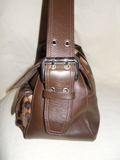 Desmo Leather Hobo Bag