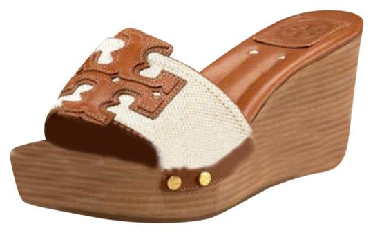 Tory Burch Natural Almond Wedges