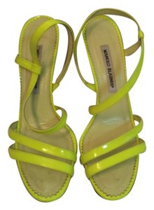 Manolo Blahnik Green Formal