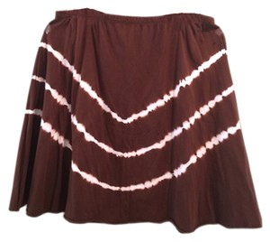 Jessie M Knee Length Skirt Brown