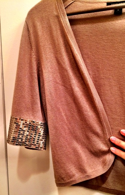Banana Republic Sequin Cropped Cardigan