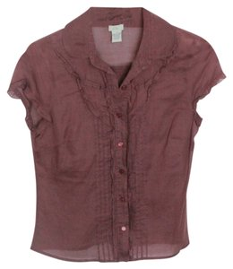 Odille Top Maroon/Brown