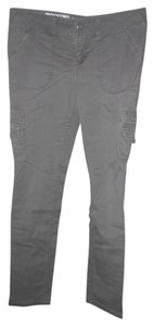 Mossimo Supply Co. Skinny Skinnies Skinny Skinny Jeans Co Juniors Cargo Pants Gray