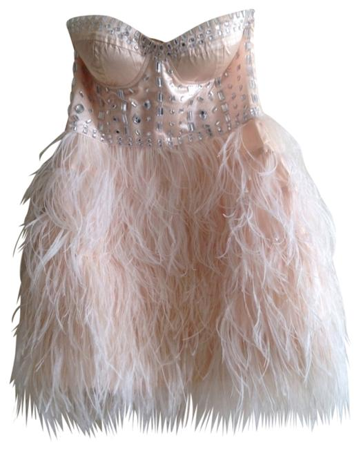 Preload https://item3.tradesy.com/images/pink-feather-above-knee-formal-dress-size-0-xs-558977-0-0.jpg?width=400&height=650