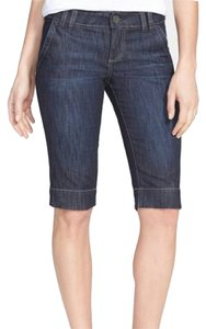 Kut fm Short Denim Shorts Dark Blue