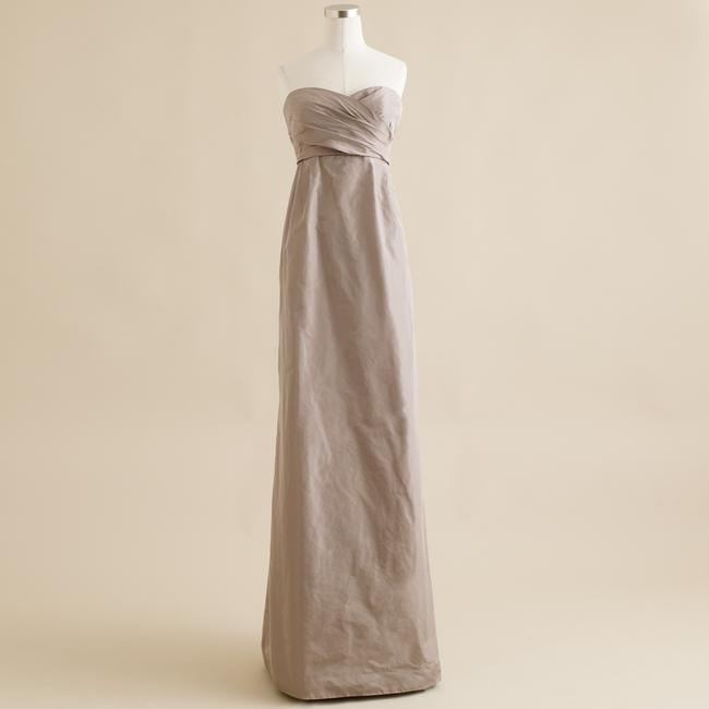 Item - Gray Silk Arabelle Feminine Bridesmaid/Mob Dress Size 4 (S)