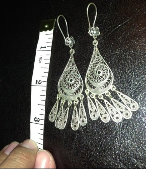 Handmade Handcrafted Silver Earrings