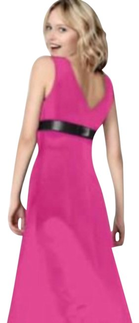 Item - Pink 6227 Long Cocktail Dress Size 4 (S)