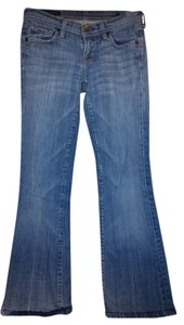 Citizens of Humanity Cotton Denim Stretch Flare Leg Jeans-Medium Wash