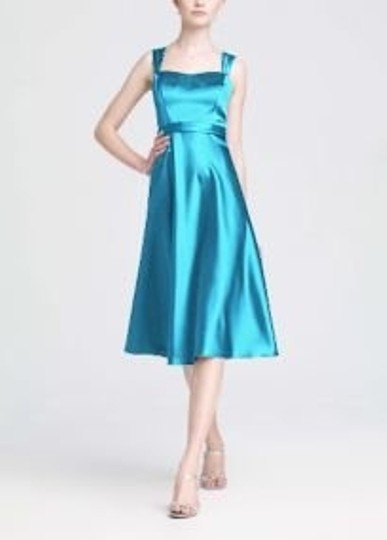 Preload https://item3.tradesy.com/images/david-s-bridal-blue-satin-wide-strap-tea-length-f14556-bridesmaidmob-dress-size-20-plus-1x-55947-0-0.jpg?width=440&height=440