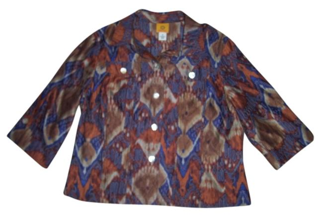 Preload https://item4.tradesy.com/images/ruby-rd-orange-multi-color-feather-report-34-sleeve-shirt-button-down-top-size-16-xl-plus-0x-559473-0-0.jpg?width=400&height=650