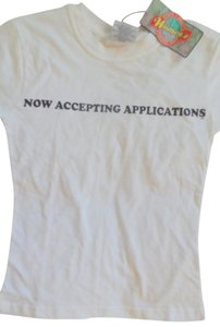 Steve & Barry's Cotton Small New T Shirt White