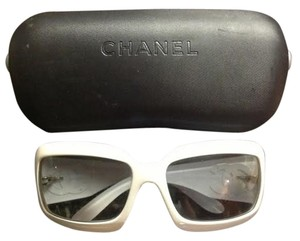 Chanel Chanel 6022-Q c176/11 Sunglasses- White (121104819687)
