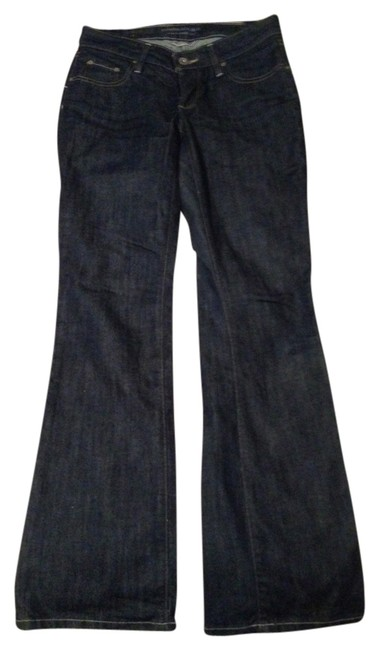 Banana Republic Boot Cut Pants Dark Wash Denim