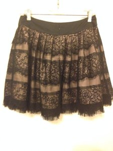 Forever 21 Skirt Black And Pink