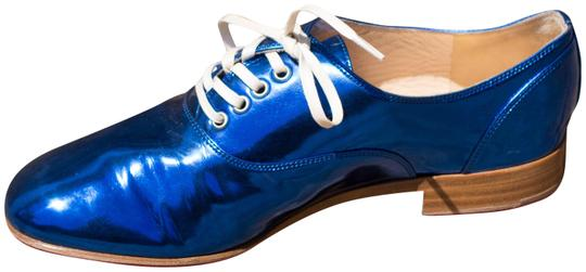 Preload https://item1.tradesy.com/images/christian-louboutin-blue-fred-metallic-patent-leather-loafers-flats-size-eu-365-approx-us-65-regular-559875-0-2.jpg?width=440&height=440