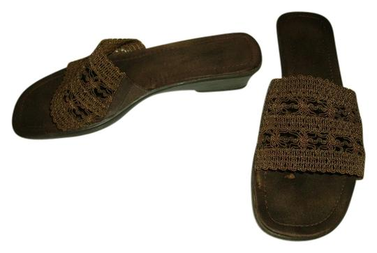 Mootsies Tootsies chocolate brown Sandals