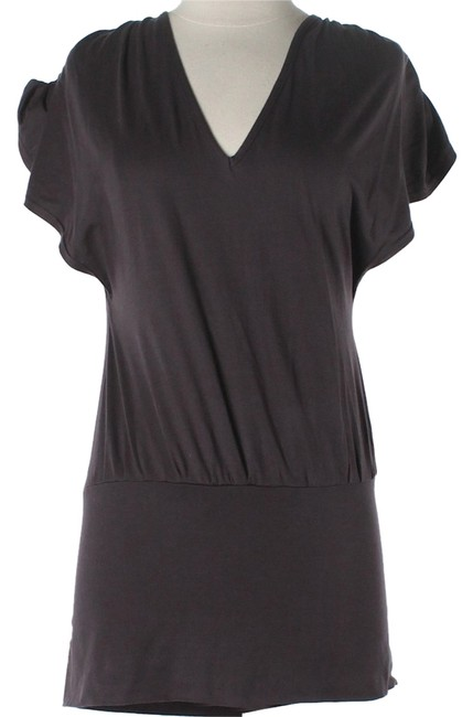 Other short dress Brown Knit Scoop Back on Tradesy